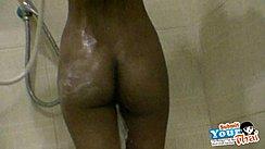 Ass In Shower