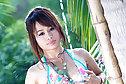 Tangmo Ran strips bikini under outdoor shower